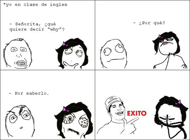 View Full Size | More meme exito open english al dia chistes y memes |