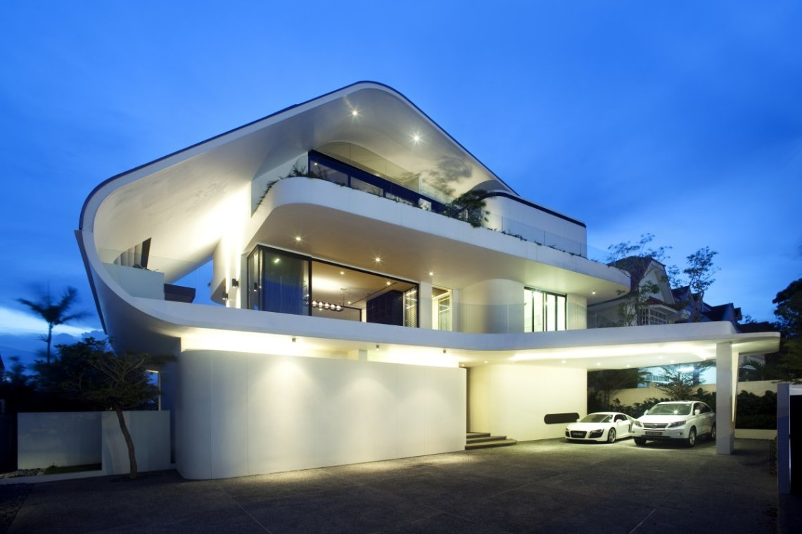 Contemporary And Luxurious Design Carcassea