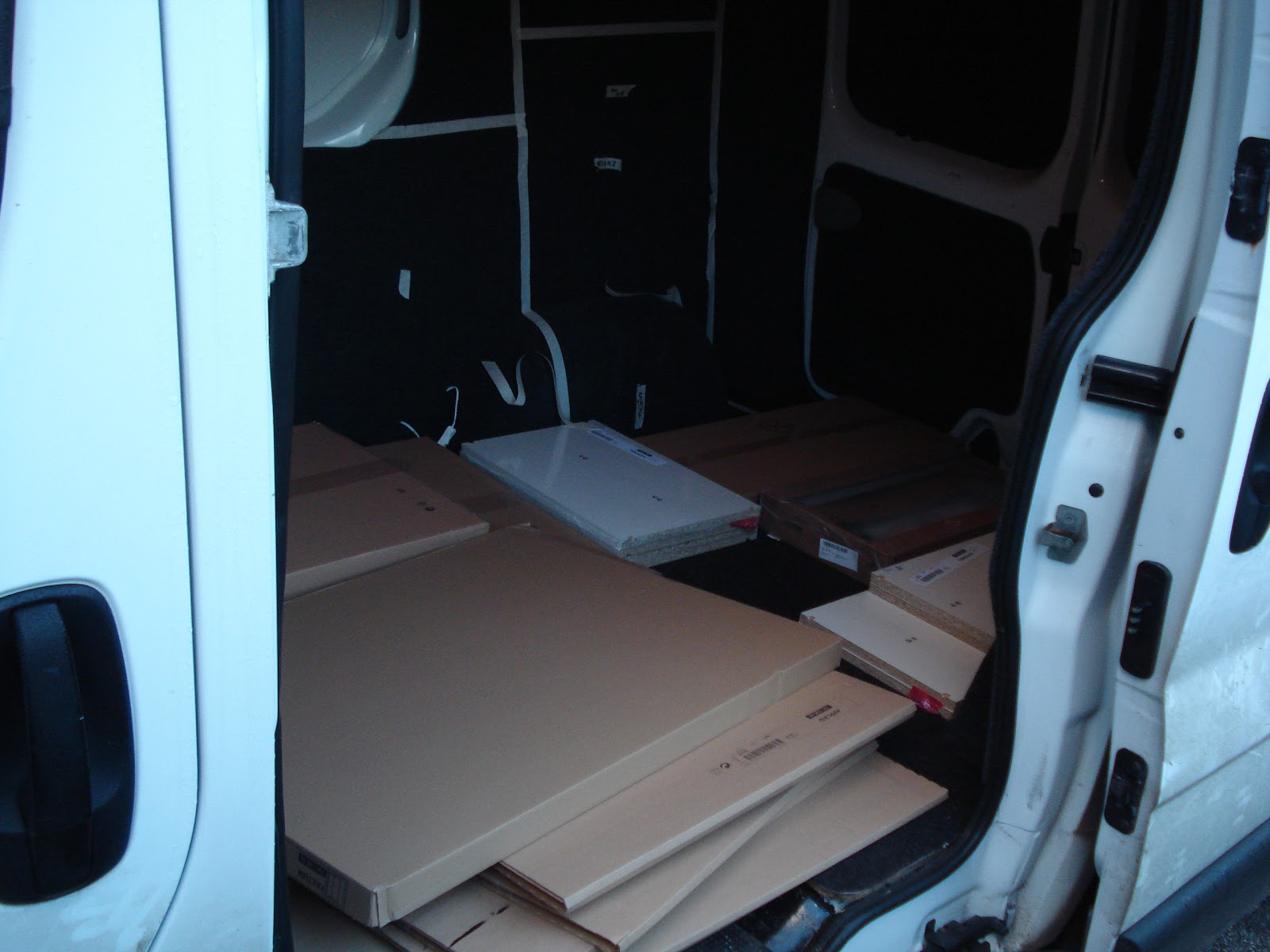 Ikea interior adrian 39 s vivaro camper for Ikea delivery phone number