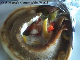 Gyro Kebab at Mykonos Taverna Gahanna Ohio