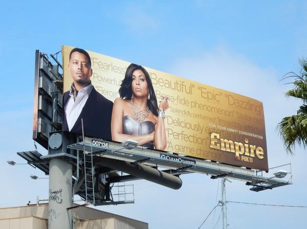 Empire 2015 Emmy billboard