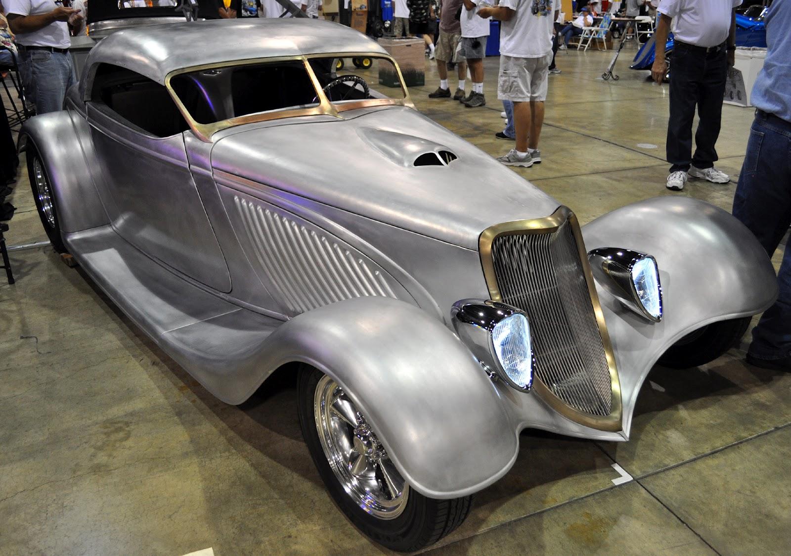 steve 39 s auto restoration has a striking aluminum hot rod. Black Bedroom Furniture Sets. Home Design Ideas