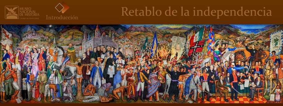 Revista ermeo retablo de la independencia mural de juan for Mural de juan o gorman