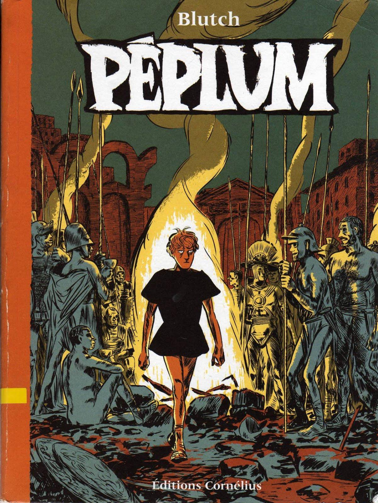 Péplum - Blutch. Ed. Cornélius
