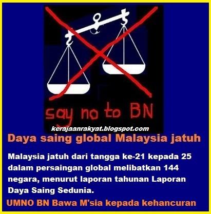 Umno bawa malaysia kepada kehancuran