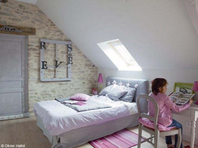 image les idées des chambres attrayante, couleur chambre fille 8 ans ...