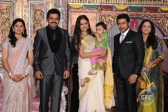 Tamil film star karthi wedding