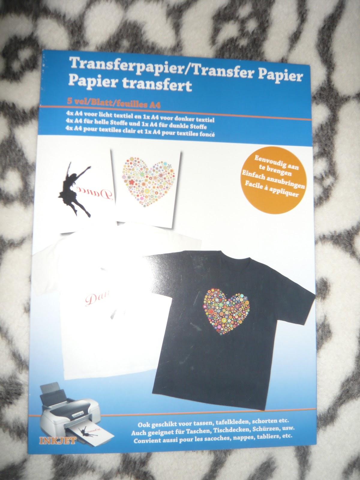 Shoplog hema action en zeeman for Transfer papier action