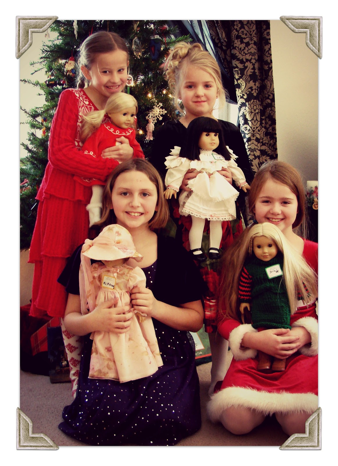 american girl doll play american girl doll holiday party