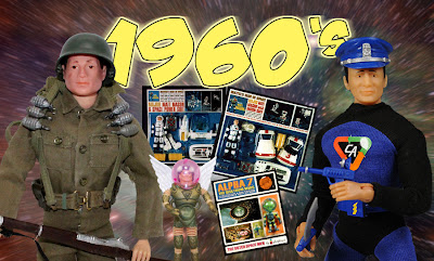 Best Toys & Action Figures of the 1960's