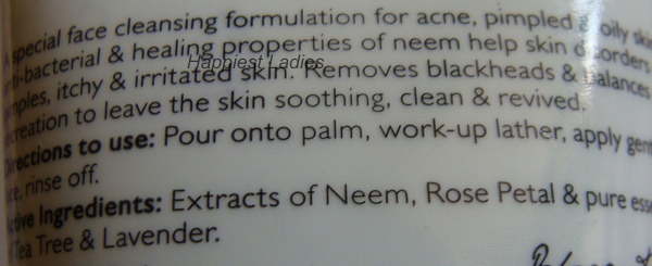Aroma Magic Neem Face Wash product description+best acne face wash