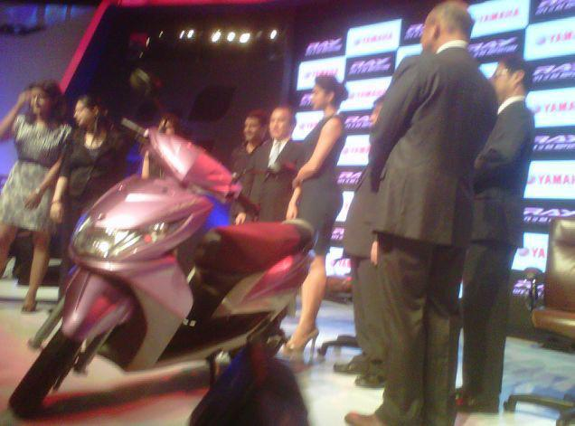 Yamaha Ray Scooter , Yamaha ray scooter colors , Yamaha ray scooter launch date , yamaha ray scooter mileage , yamaha ray scooter review , yamaha ray scooter specifications , yamaha ray scooter price,  yamaha moped scooters Yamaha Ray 110 Scooter Overview , Yamaha Ray 110cc Specs , Yamaha Ray 110cc Price ,Yamaha Motor company Launched  the Yamaha Ray 110cc Scooter in the Indian market on the 14th of September, 2012. BOOKINGS Can be done online Yamaha Ray 110cc