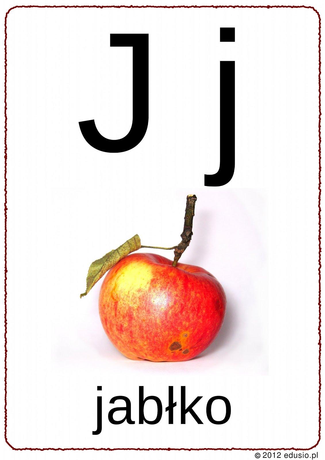 Edusio Druczki Do Nauczki Litera J