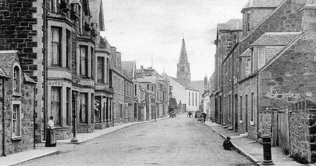 Tour Scotland Photographs Old Photograph Drummond Street