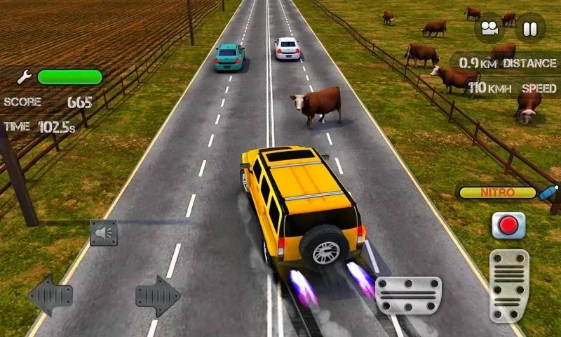 Race the Traffic Nitro v1.0.3 free download