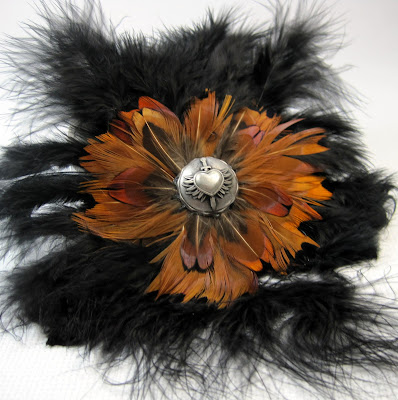 Feathered Brooch