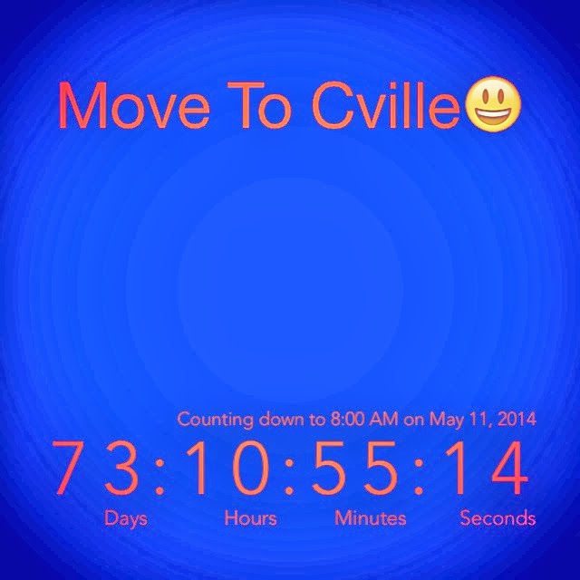 Move to Cville Countdown