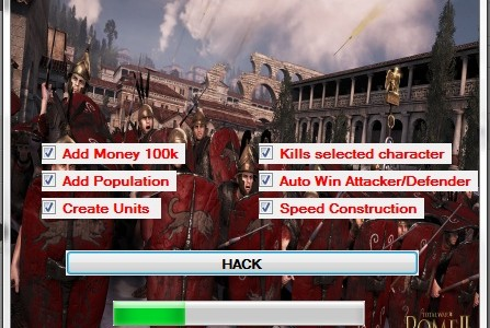 Total War Rome 2 Hack ~ Best Hacks|Generators |Cheats for your game