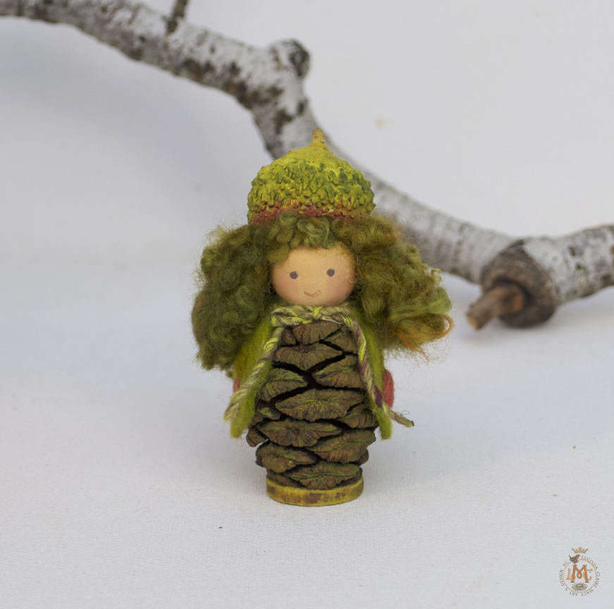 Little Luna Moth Gnome