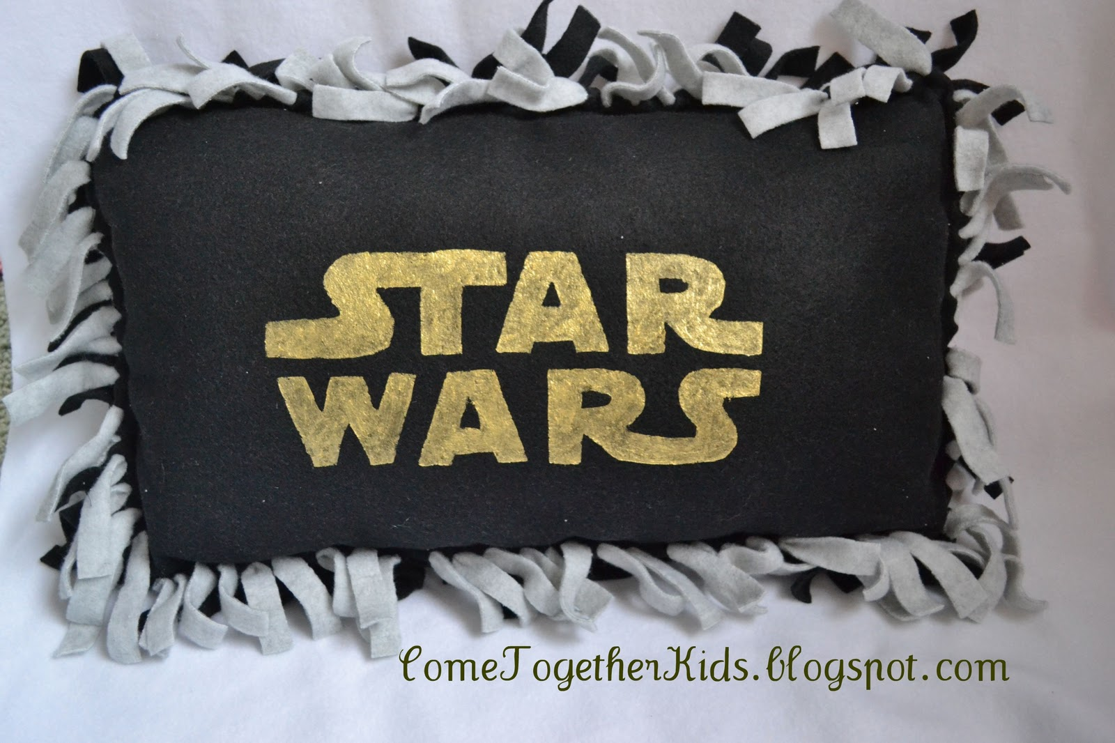 come together kids star wars fleece pillow