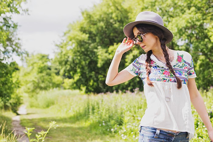 Wool-Fedora-Embroidered-Top-Boho-Gypsy