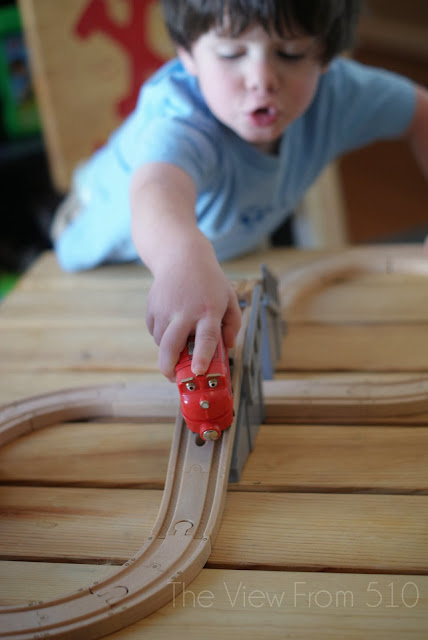 Chuggington Wooden Railway #Giveaway