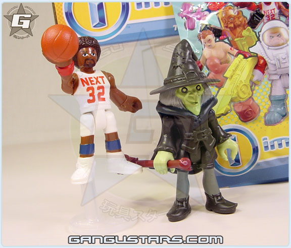 Fisher-Price Imaginext blind pack series 4 Basketball Player batman dc comics アメコミバットマン イマジネックスト