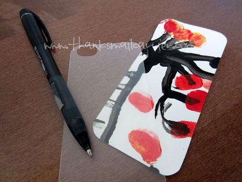 Vue iphone 5 case customized