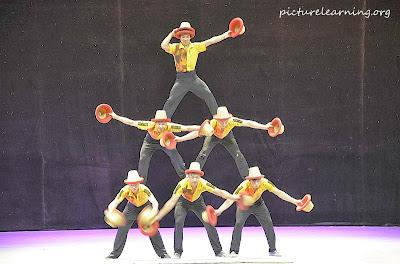 Chaoyang Acrobatic Show Hat Balance