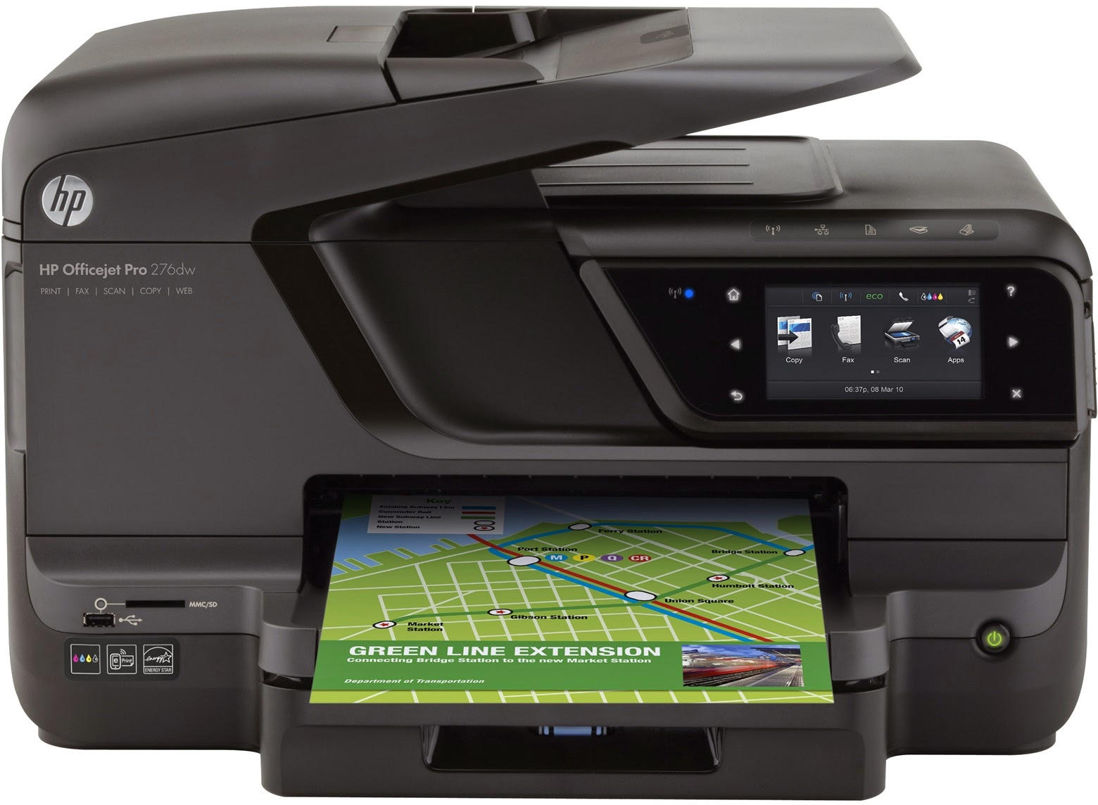 HP Officejet Pro 276dw Multifunction Printer (CR770A)