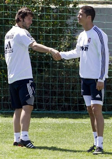 Ronaldo on Favorite Celebrity  Cristiano Ronaldo Pictures   Last Training For El