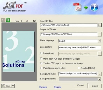 aXmag PDF to Flash Converter 2.43