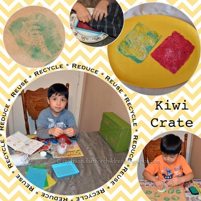 Making Paper Kit - kids craft & activity