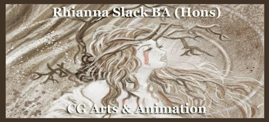 Rhianna Slack BA (Hons) CG Arts & Animation