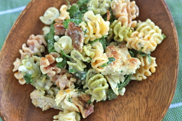 Pasta salad recipe with gorgonzola