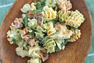 gorgonzola chicken pasta salad