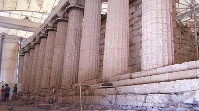 Κλείνει ο ναός του Επικούρειου Απόλλωνα