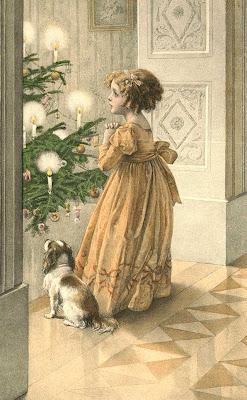 Новогодние Вязанная крючком открытка