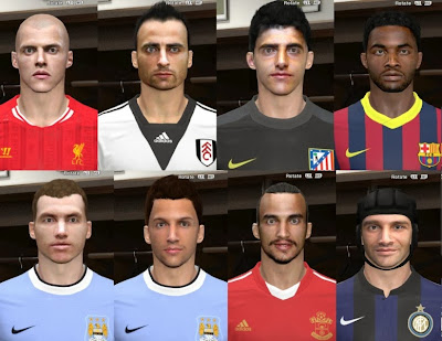 PES 2014 Facepack v.1 by thenott
