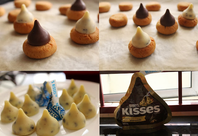 kisses cookies