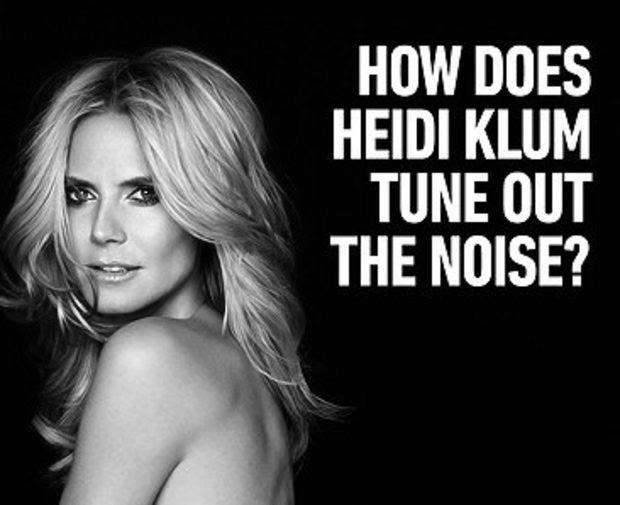 Heidi Klum ads for Sharper image too racy for Las Vegas