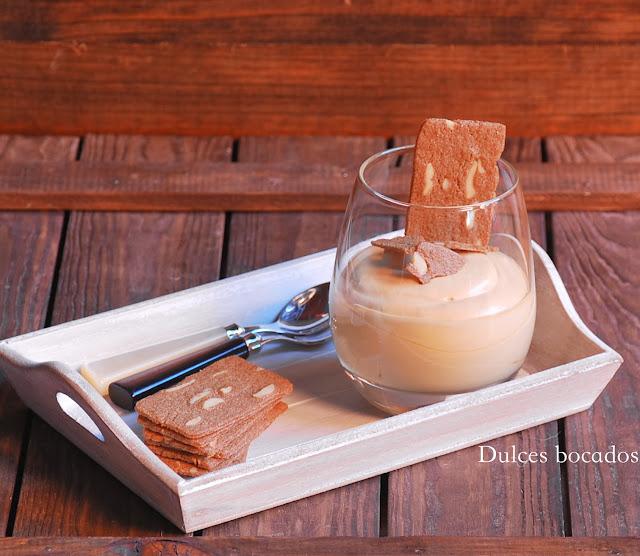 Dulces bocados: Mousse de dulce de leche