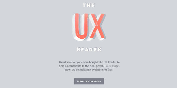 UX – User Experience Learning