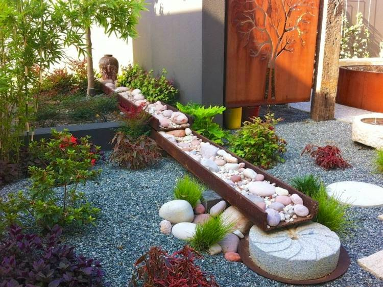 Asian-japan style garden