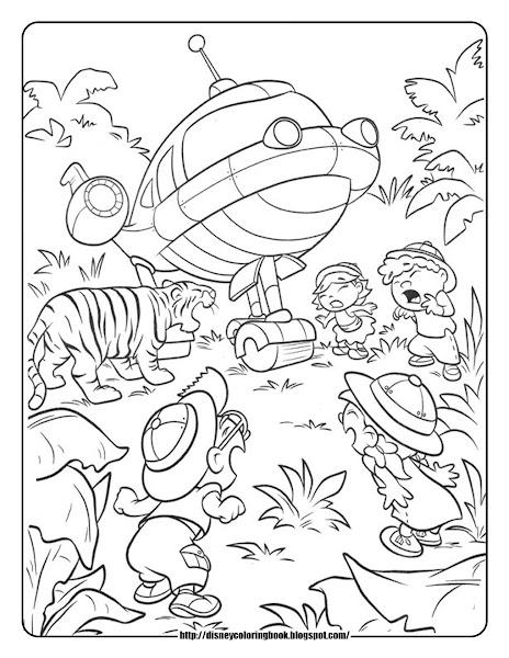 Disney Junior Little Einsteins Coloring Pages