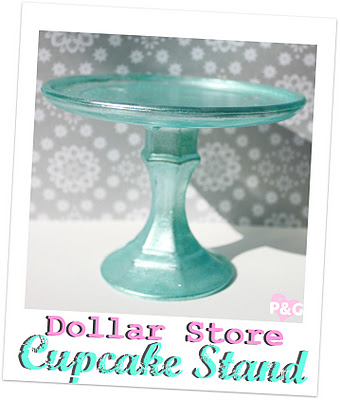Dollar Store Cake Pop Stand