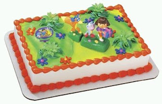 Dora the explorer cakes for children parties