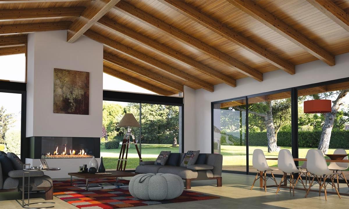 Canalones estrella s l u - Madera para techos interiores ...