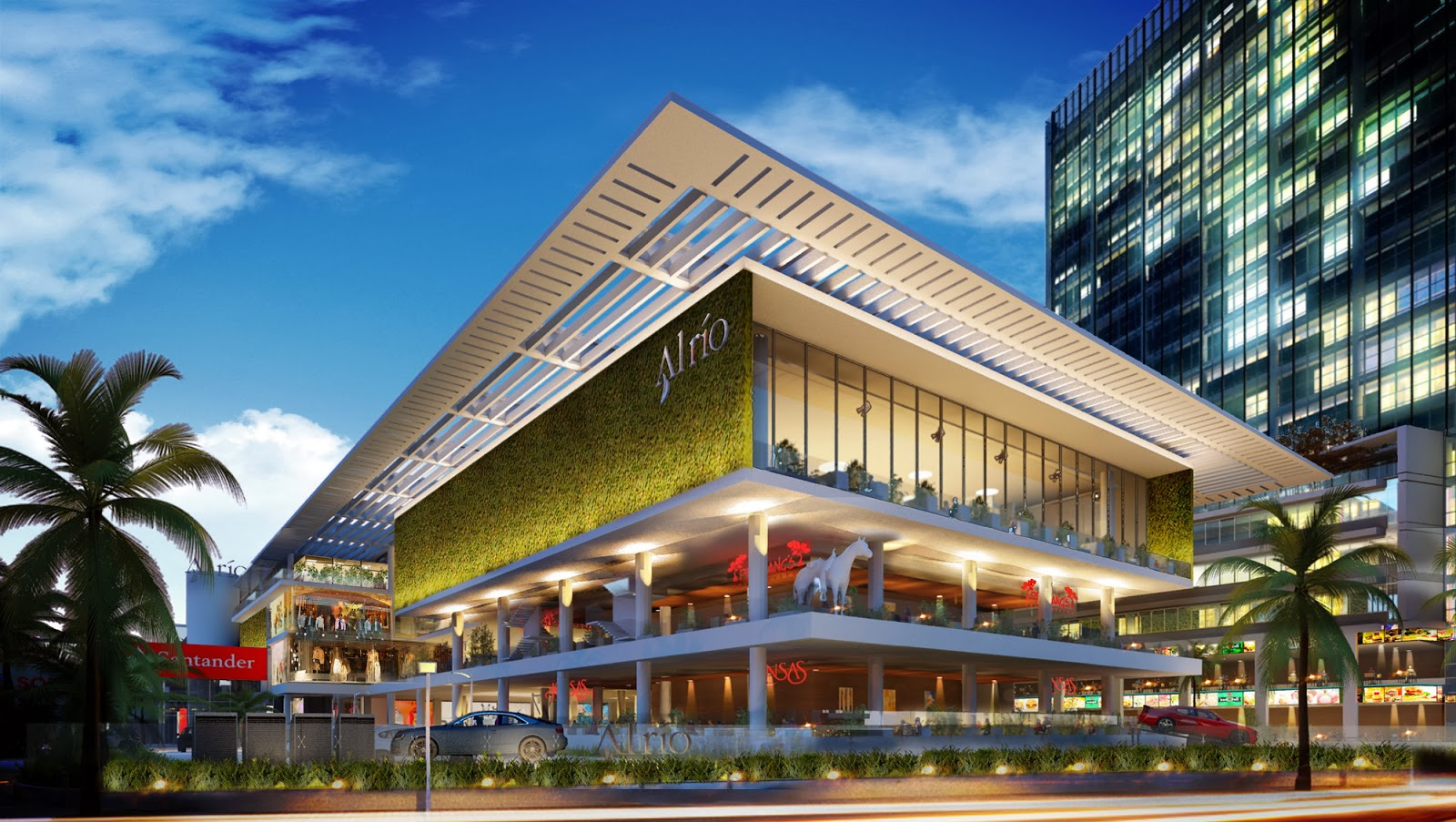 Arquiempresas criba comenz la construcci n del centro - Centro comercial el serrallo ...