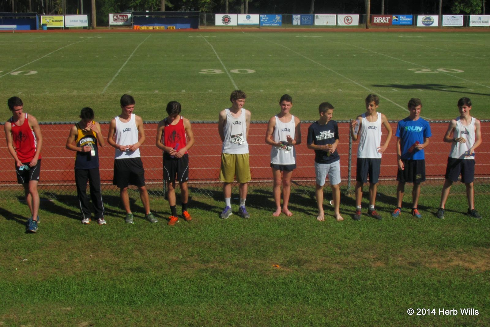 2014 FHSAA District 3-1A Cross Country